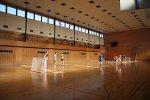 Баскетбол, волейбол, футбол
